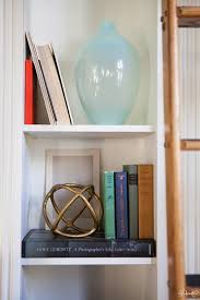 Colored Bookshelves by Laura U0027s Living Room Ikea Billy Bookshelves Hack The Makerista