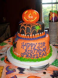 Pictures Of Halloween Birthday Cakes Halloween Birthday Cake Cakecentral Com