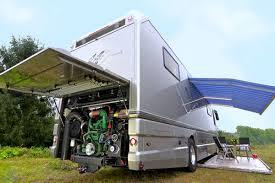 volkner rv this volkner luxury motorhome features a built in garage neatorama