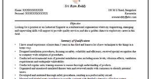 Industrial Engineering Resume Over 10000 Cv And Resume Samples With Free Download Engineer