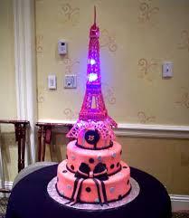 birthday cake zebra eiffel tower nail polish themed birthday