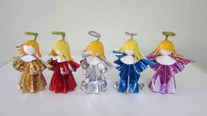 tutorial how to make 3d paper doll angels youtube
