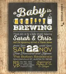 a baby is brewing a baby is brewing coed baby shower invitation baby