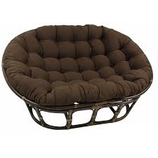 Papasan Chair Cushion Cover 60 U0027 U0027 X 48 U0027 U0027 Solid Twill Tufted Double Papasan Cushion Dcg Stores