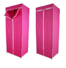 clothes cupboard buy kawachi single canvas clothes storage organiser wardrobe