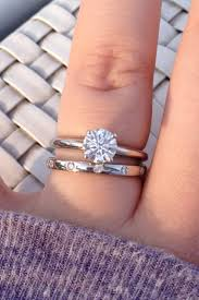 love rings tiffany images Show me your wedding band with tiffany style solitaire e ring jpg