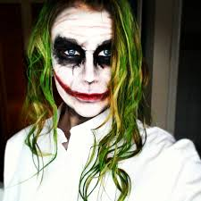 Female Joker Halloween by Joker Dark Knight Makeup Tutorial German Youtube
