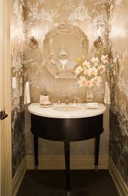 powder rooms with wallpaper experience can powder room wallpaper either calming decor store