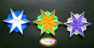 origami maniacs 5 different kinds of origami snowflakes for christmas