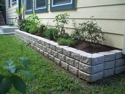Flower Bed Border Ideas Rock Flower Bed Borders