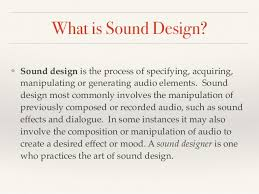 The Art Of Sound Design Off The Wall Creating Interactive Sound Designs 2 6 16