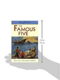 treasure island book report five on a treasure island famous five enid blyton