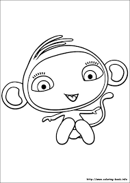 waybuloo coloring pages coloring book