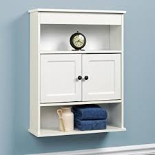 amazon com chapter wall bathroom storage cabinet home improvement