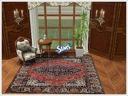 Oriental Decor Sims 3 Updates Oriental Rugs 4x4 By Enrosadira