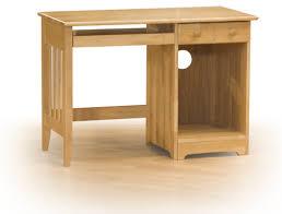 Computer Desk Hard Wood Captivating Hardwood Computer Desk Great Home Office Design Ideas