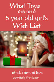 presents 5 year on their wish list trends