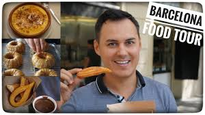 churros hervé cuisine tour culinaire à barcelone churros crème catalane paella tapas