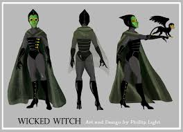 wicked witch oz costume the art of phillip light the witches of oz redesign