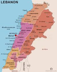lebanon on the map lebanon political map political map of lebanon political