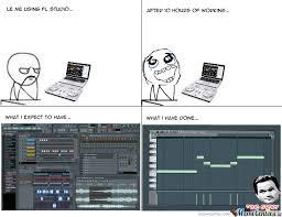 Studio Memes - using fl studio by alva nacho1298 meme center