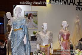 Thai Wedding Dress Silk Wedding Dress Superior Thai Silk Returns To The Bridal Scene