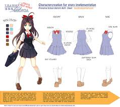 learn manga create your world cc uniform by naschi on