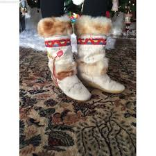 s boots with fur vintage 39 s tecnica winter boots genuine fur white