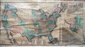 Road Map Of America by An Overview Of Pennsylvania Mapping Circa 1850 To 1900