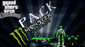 motocross gear monster energy gta sa pack monster energy