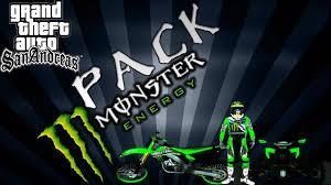 motocross monster energy gear gta sa pack monster energy