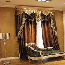 Modern Window Valance Styles Luxury Europe 2013 Fashion Classical Style Elegant Chenille Silver