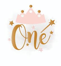 1st birthday 1st birthday svg clipart baby girl birthday crown birthday