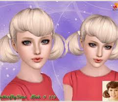 sims 3 custom content hair sims 3 female hair custom content downloads