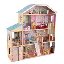 How To Make Dollhouse Furniture Out Of Household Items Amazon Com Kidkraft Majestic Mansion Dollhouse Toys U0026 Games