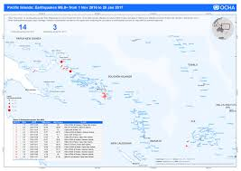 Map Of Pacific Islands Vanuatu National Disaster Management Office Ndmo Map Of Recent