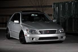lexus is300 silver poster of lexus is300 silver on black volk wheels hd print ebay