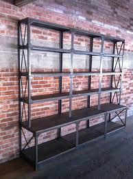 shelving vintage industrial furniture
