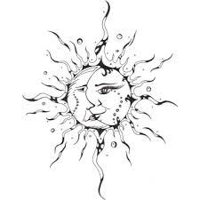 sun moon i would a more simplistic of this