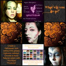 halloween makeup using younique products halloween
