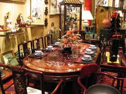 oriental dining room set beautiful oriental dining room set gallery home design ideas