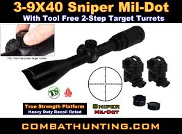 scope with rings images Scp u394fdt2 3 9x40 tf2 sniper mil dot scope with 22 rings gif