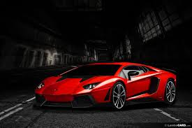 car lamborghini red render 2014 lamborghini aventador lp720 4 by lambocars gtspirit