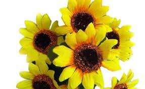 artificial sunflowers artificial flowers display gardening flower and vegetables