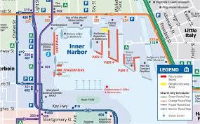 baltimore light rail map national aquarium directions parking