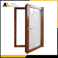 venetian blinds design wood window open inside casement window