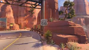 Route 66 Map by Overwatch Soldier 76 Route 66 Map Youtube