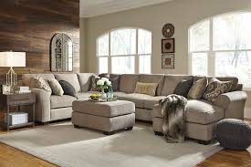 Oversized Loveseat With Ottoman Signature Design By Living Room Pantomine Right Chaise