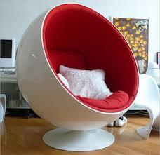 Modern Ball Chair Webetop Retro Living Room Leisure Egg Pod Ball Chair For Beauty