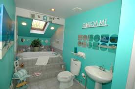 beach themed bathroom accessories in idyllic image beach me